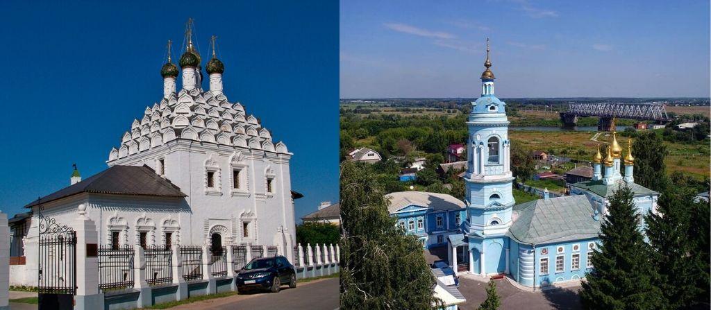 Церковь Николы-на Посаде и Богоявления-в-гончарах