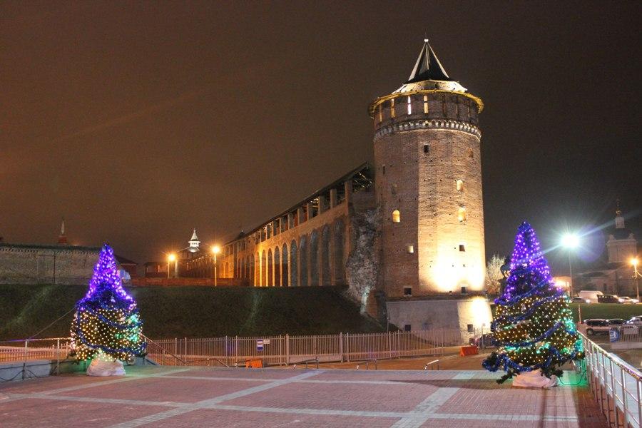 Маринкина башня зимой