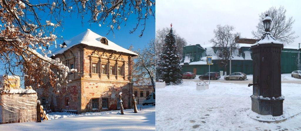 Коломенский Посад зимой