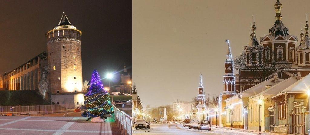 Экскурсия в Кремле Коломны зимой на праздники